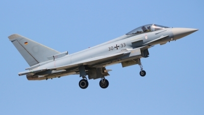 Photo ID 211466 by Justin Jundel. Germany Air Force Eurofighter EF 2000 Typhoon S, 30 33