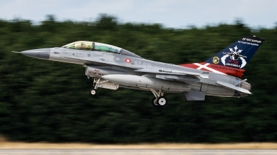 Photo ID 211502 by Kris Christiaens. Denmark Air Force General Dynamics F 16BM Fighting Falcon, ET 210