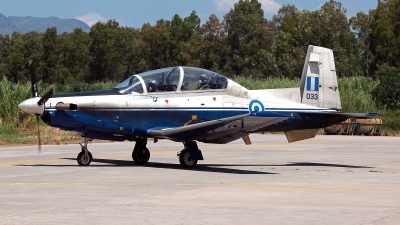 Photo ID 211551 by Carl Brent. Greece Air Force Raytheon T 6A Texan II, 033