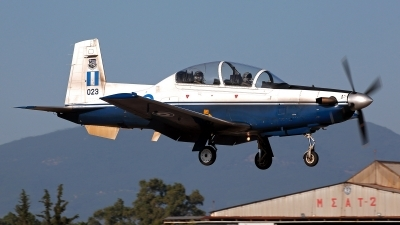 Photo ID 211550 by Carl Brent. Greece Air Force Raytheon T 6A Texan II, 023