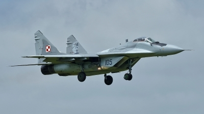 Photo ID 211567 by Rainer Mueller. Poland Air Force Mikoyan Gurevich MiG 29A 9 12A, 105