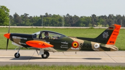 Photo ID 211660 by Justin Jundel. Private Great War Flying Museum SIAI Marchetti SF 260MB, D EDUR