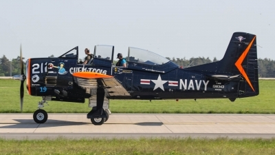 Photo ID 211589 by Justin Jundel. Private Private North American T 28B Trojan, N343NA