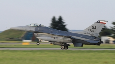 Photo ID 211615 by Milos Ruza. USA Air Force General Dynamics F 16C Fighting Falcon, 87 0339