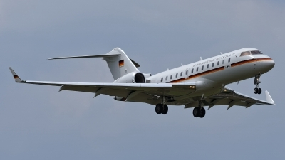 Photo ID 211598 by Rainer Mueller. Germany Air Force Bombardier BD 700 1A11 Global 5000, 14 02