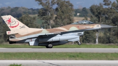 Photo ID 211626 by Stamatis Alipasalis. Israel Air Force General Dynamics F 16C Fighting Falcon, 345