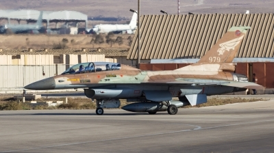 Photo ID 211644 by Andreas Zeitler - Flying-Wings. Israel Air Force General Dynamics F 16B Fighting Falcon, 979
