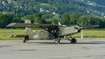Photo ID 211841 by Martin Thoeni - Powerplanes. Switzerland Air Force Pilatus PC 6 B2 H2M 1 Turbo Porter, V 632