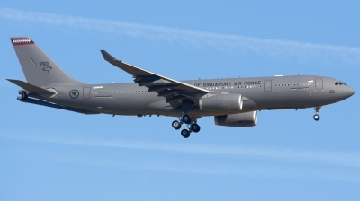Photo ID 211916 by Alberto Gonzalez. Singapore Air Force Airbus A330 243MRTT, 760