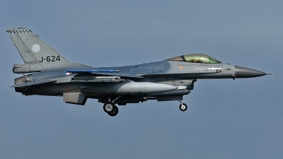 Photo ID 211963 by Rainer Mueller. Netherlands Air Force General Dynamics F 16AM Fighting Falcon, J 624