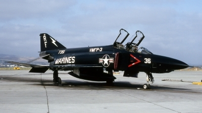 Photo ID 212000 by James Winfree III Slide Collection. USA Marines McDonnell Douglas RF 4B Phantom II, 157351