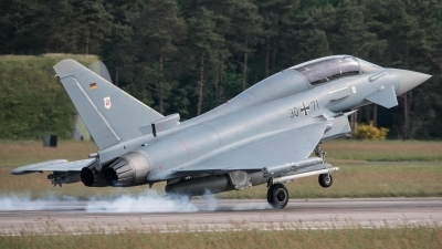 Photo ID 212007 by Sven Neumann. Germany Air Force Eurofighter EF 2000 Typhoon T, 30 71