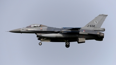 Photo ID 212074 by Frank Kloppenburg. Netherlands Air Force General Dynamics F 16AM Fighting Falcon, J 632