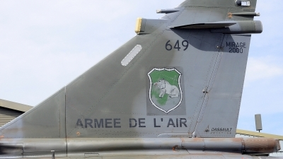 Photo ID 212155 by Sven Zimmermann. France Air Force Dassault Mirage 2000D, 649