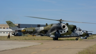 Photo ID 212221 by Sven Zimmermann. Czech Republic Air Force Mil Mi 35, 7356