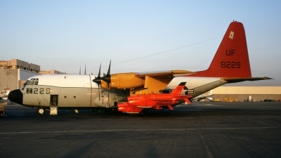 Photo ID 212271 by James Winfree III Slide Collection. USA Navy Lockheed DC 130A Hercules L 182, 158229