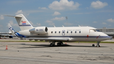 Photo ID 212303 by Florian Morasch. Croatia Government Canadair CL 600 2B16 Challenger 604, 9A CRO