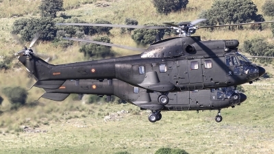 Photo ID 212368 by Ruben Galindo. Spain Army Aerospatiale AS 332B1 Super Puma, HU 21 08