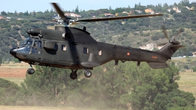 Photo ID 212350 by Carl Brent. Spain Army Aerospatiale AS 332B1 Super Puma, HU 21 08