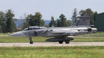 Photo ID 212423 by Milos Ruza. Czech Republic Air Force Saab JAS 39C Gripen, 9240