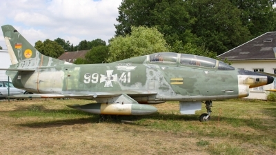 Photo ID 212523 by Justin Jundel. Germany Air Force Fiat G 91T3, 99 41