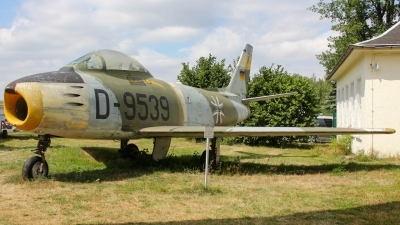 Photo ID 212522 by Justin Jundel. Germany Air Force Canadair CL 13B Sabre 6, D 9539