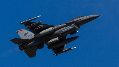 Photo ID 212434 by Adrian Stürmer. USA Air Force General Dynamics F 16CM Fighting Falcon, 91 0343