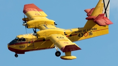 Photo ID 212465 by F. Javier Sánchez Gómez. Spain Air Force Canadair CL 215T, UD 13 16