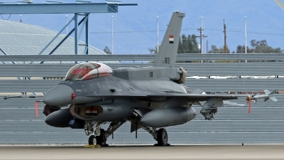 Photo ID 212480 by Richard de Groot. Iraq Air Force General Dynamics F 16D Fighting Falcon, 1619