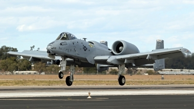 Photo ID 212493 by Richard de Groot. USA Air Force Fairchild A 10C Thunderbolt II, 79 0202