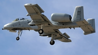Photo ID 212492 by Richard de Groot. USA Air Force Fairchild A 10C Thunderbolt II, 79 0202