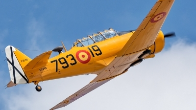 Photo ID 212539 by Adolfo Bento de Urquia. Private Fundacion Infante de Orleans North American T 6G Texan, EC DUN