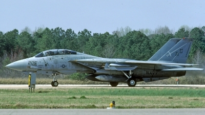 Photo ID 212529 by David F. Brown. USA Navy Grumman F 14A Tomcat, 160896