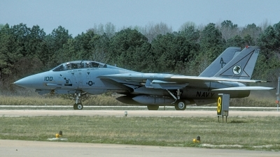 Photo ID 212528 by David F. Brown. USA Navy Grumman F 14A Tomcat, 162700