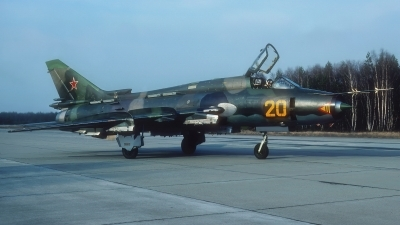 Photo ID 212563 by Rainer Mueller. Russia Air Force Sukhoi Su 17M4 Fitter K,
