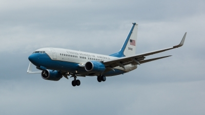 Photo ID 212618 by Doug MacDonald. USA Air Force Boeing C 40C 737 7CP BBJ, 05 0932