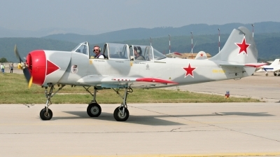 Photo ID 212673 by Milos Ruza. Private Private Yakovlev Aerostar Iak 52 Yak 52, OM YAK