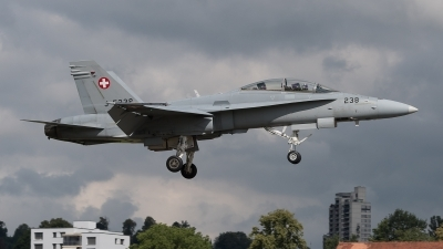 Photo ID 212694 by Luca Fahrni. Switzerland Air Force McDonnell Douglas F A 18D Hornet, J 5238
