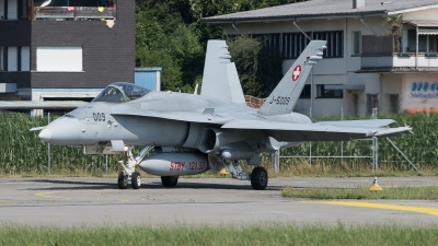 Photo ID 212703 by Luca Fahrni. Switzerland Air Force McDonnell Douglas F A 18C Hornet, J 5009