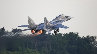 Photo ID 213185 by Jan Philipp. Poland Air Force Mikoyan Gurevich MiG 29A 9 12A, 105