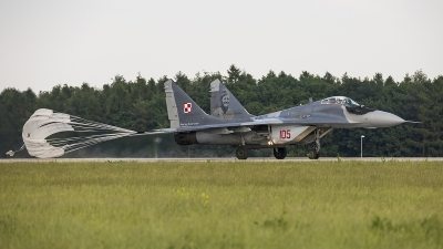 Photo ID 213184 by Jan Philipp. Poland Air Force Mikoyan Gurevich MiG 29A 9 12A, 105