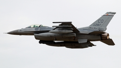 Photo ID 212848 by Carl Brent. USA Air Force General Dynamics F 16C Fighting Falcon, 86 0287