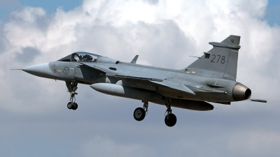 Photo ID 212769 by Carl Brent. Sweden Air Force Saab JAS 39C Gripen, 39278