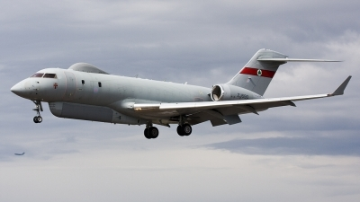 Photo ID 24865 by Dave Jefferys. UK Air Force Bombardier BD 700 Sentinel R1, ZJ690