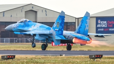Photo ID 212785 by Lukas Könnig. Ukraine Air Force Sukhoi Su 27P1M,