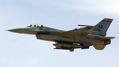 Photo ID 212839 by Richard de Groot. USA Air Force General Dynamics F 16C Fighting Falcon, 90 0715