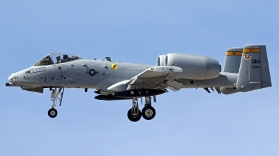 Photo ID 212944 by Richard de Groot. USA Air Force Fairchild A 10C Thunderbolt II, 78 0684