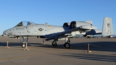 Photo ID 212861 by Richard de Groot. USA Air Force Fairchild A 10C Thunderbolt II, 81 0997