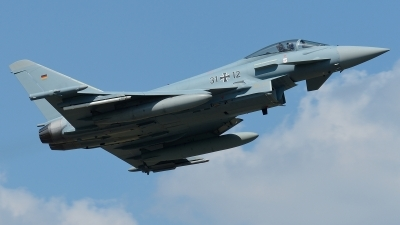 Photo ID 212880 by Klemens Hoevel. Germany Air Force Eurofighter EF 2000 Typhoon S, 31 12