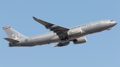 Photo ID 212926 by F. Javier Sánchez Gómez. Singapore Air Force Airbus A330 243MRTT, 761